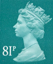 81p Discount GB Postage Stamp